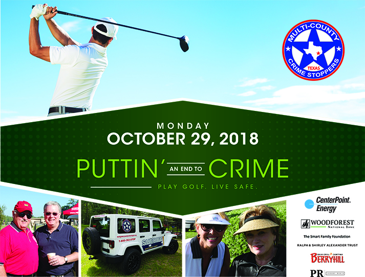 Help Local Law Enforcement Put an End to Crime - On the Course!