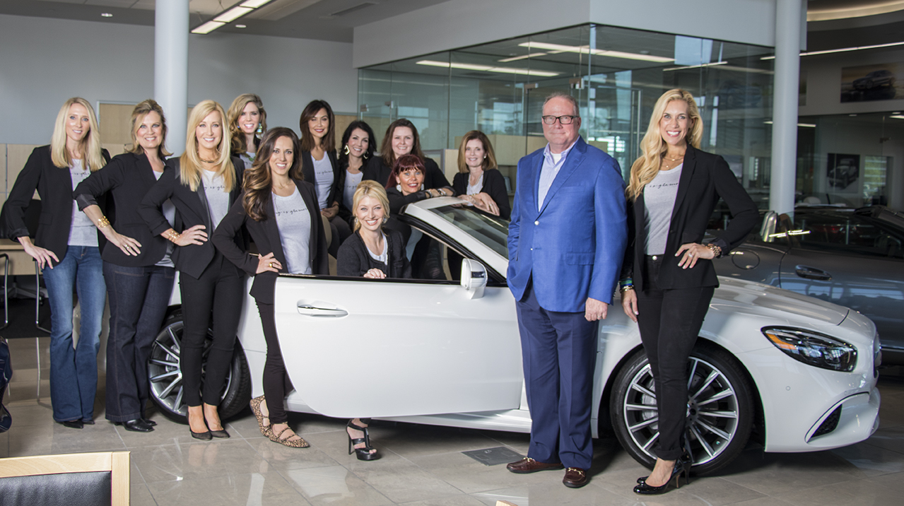 Mercedes-Benz of The Woodlands Official Giving Goes Glam Valet Sponsor