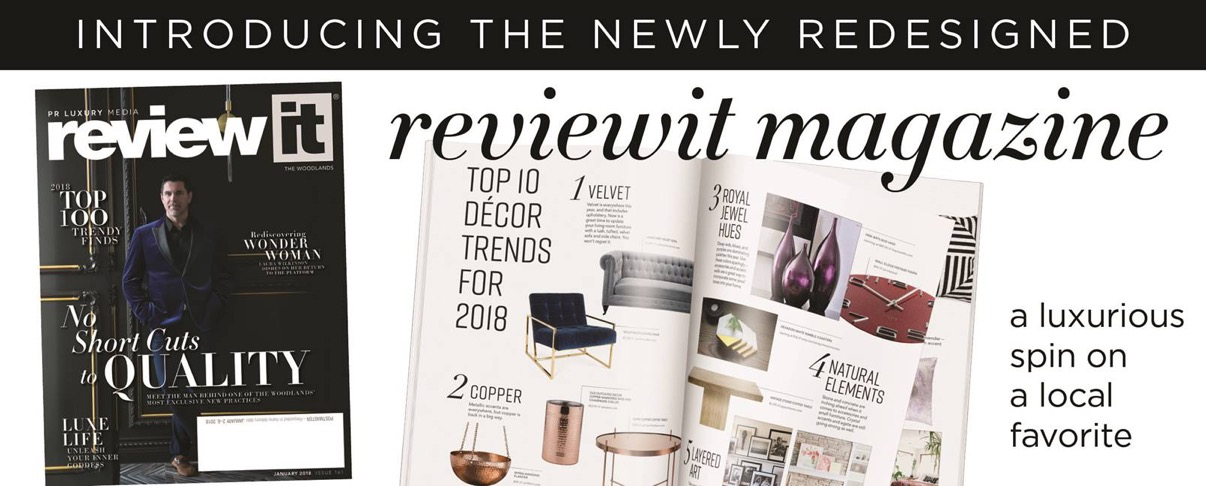 PR Luxury Media -- reviewit Magazine unveils Redesign with January 2018 Issue
