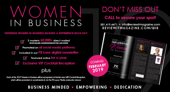 Influential Women in Business Reception